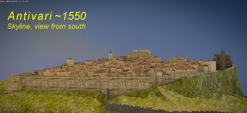 Antivari 3D City Map